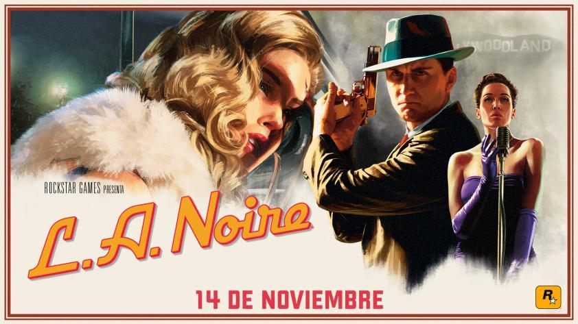 Nuevas versiones de L.A. NOIRE llegarán en noviembre
