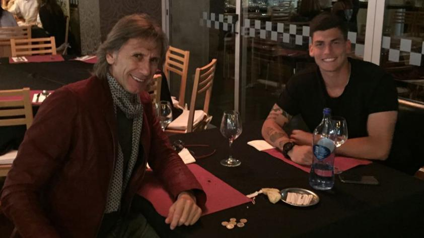 Ricardo Gareca se reunió con Iván Bulos