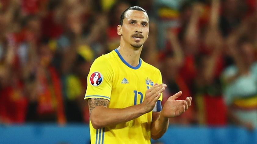 """Zlatan Ibrahimovic: """"Suecia juega sin presión. Desde que salí nadie espera mucho de ellos"""""""