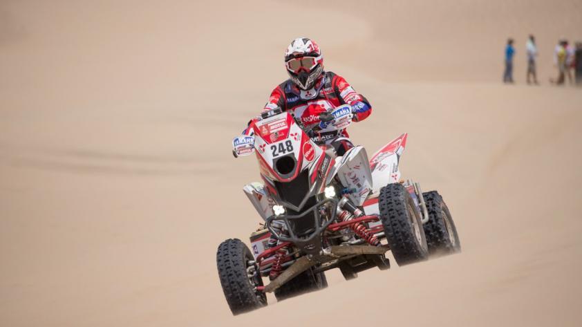 Dakar 2018: peruano Alexis Hernández terminó segundo en tercera etapa del Rally