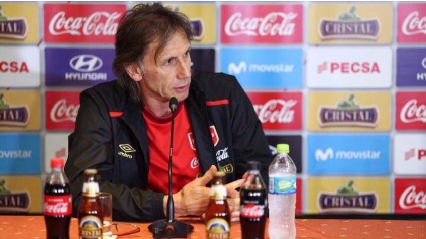 Ricardo Gareca a 3 días de enfrentar a Argentina: