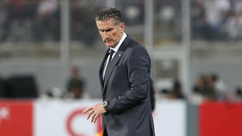 Edgardo Bauza fue cesado como técnico de Argentina