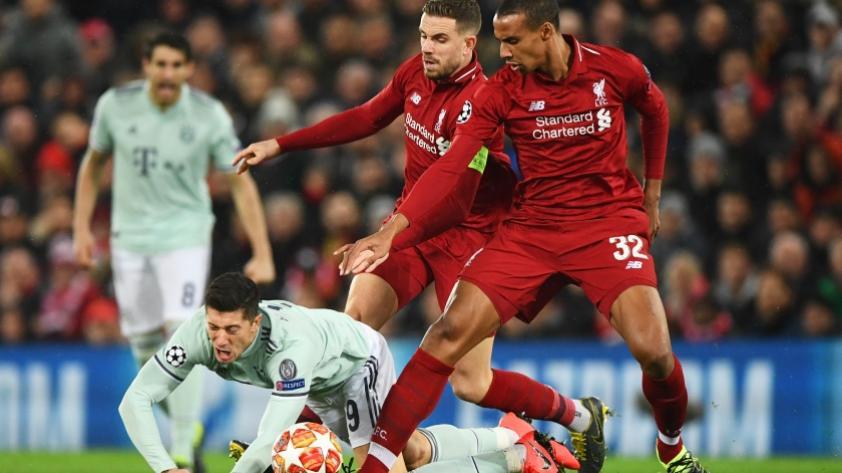 Liverpool empató 0-0 con Bayern Munich por la ida de octavos de final en Champions League