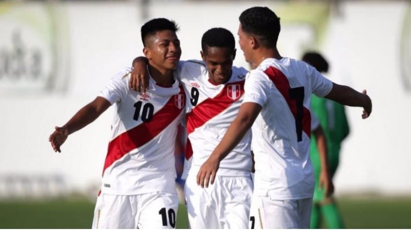 Amistoso Sub 17:  Perú ganó, goleó y gustó a su similar de Costa Rica