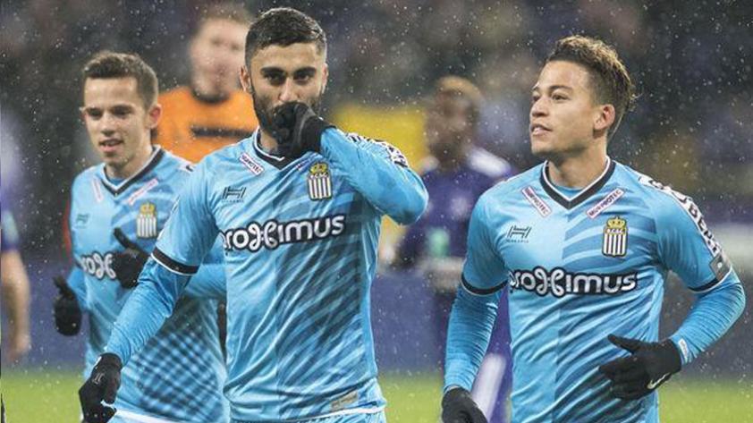 Cristian Benavente integra una vez más el once ideal de la jornada en la Liga de Bélgica