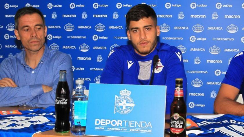Beto da Silva y sus primeras palabras como jugador del Depor La Coruña: