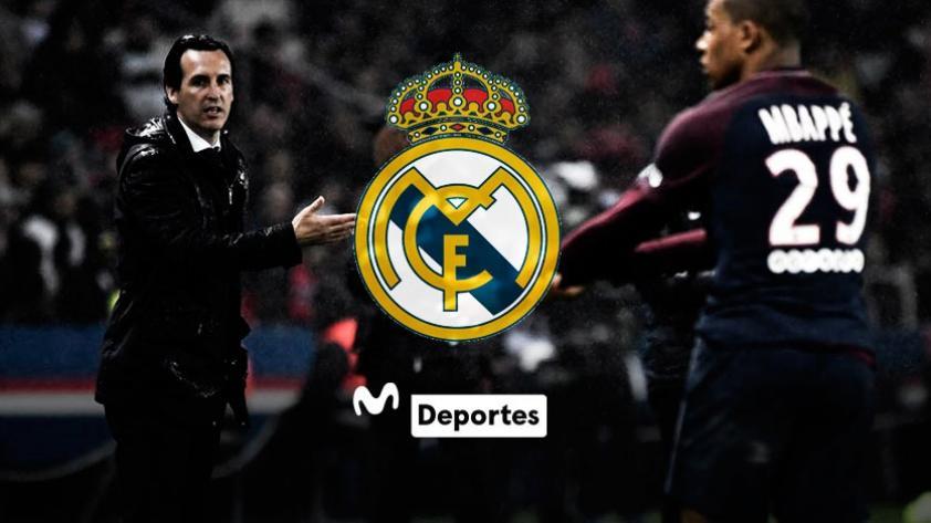 ¿Kylian Mbappé confirmó que quería irse al Real Madrid?, esto dijo Unai Emery