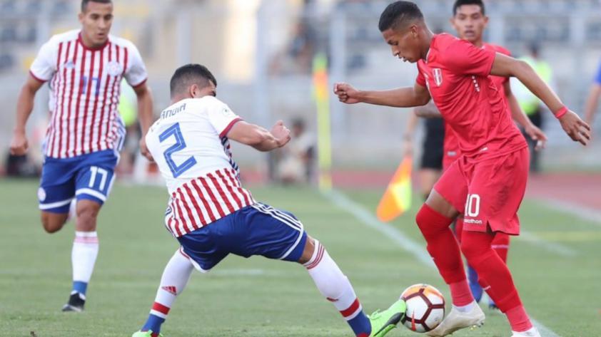 Perú perdió 1-0 ante Paraguay por la tercera fecha del Sudamericano Sub 20
