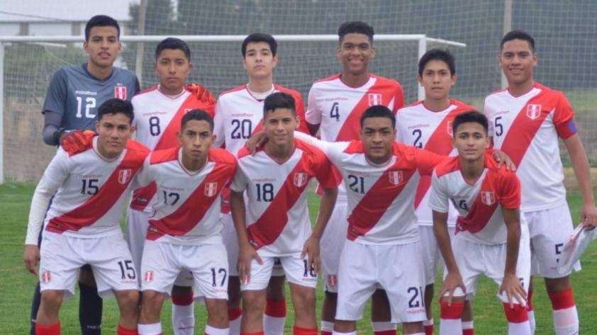 Selección Peruana Sub 15: la blanquirroja ya tiene grupo y rivales para el Sudamericano que se disputará en Bolivia