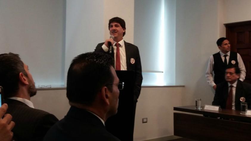 Universitario: Jean Ferrari afirmó que llegó para recuperar el valor de la marca que es el club crema