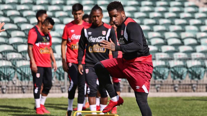 El once titular que paró Ricardo Gareca en el último entrenamiento de Perú en Auckland