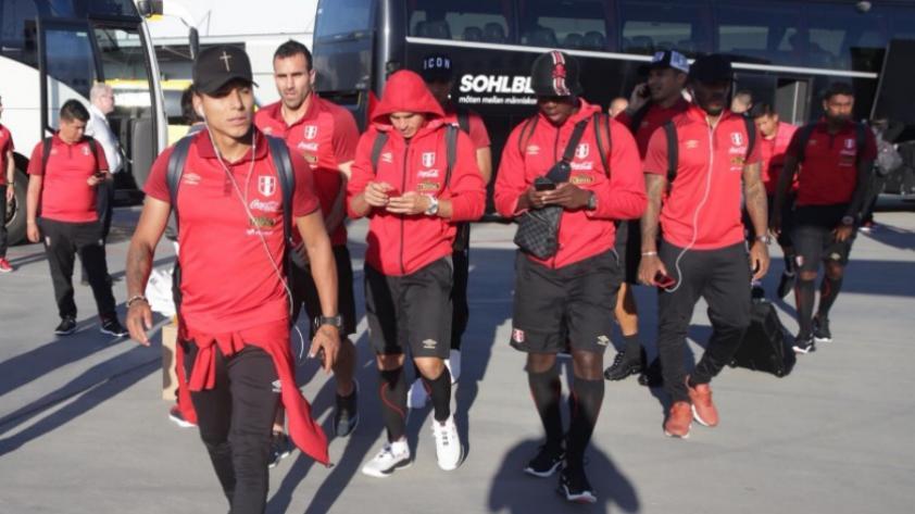 Selección Peruana: la bicolor llegó a Suecia para su último amistoso