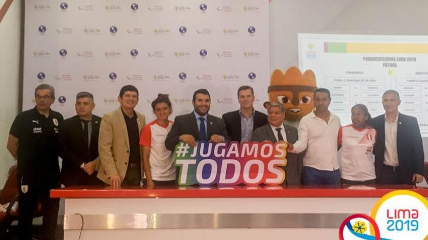 Lima 2019: se realizó el sorteo de grupos de la selección peruana de fútbol masculino y femenino