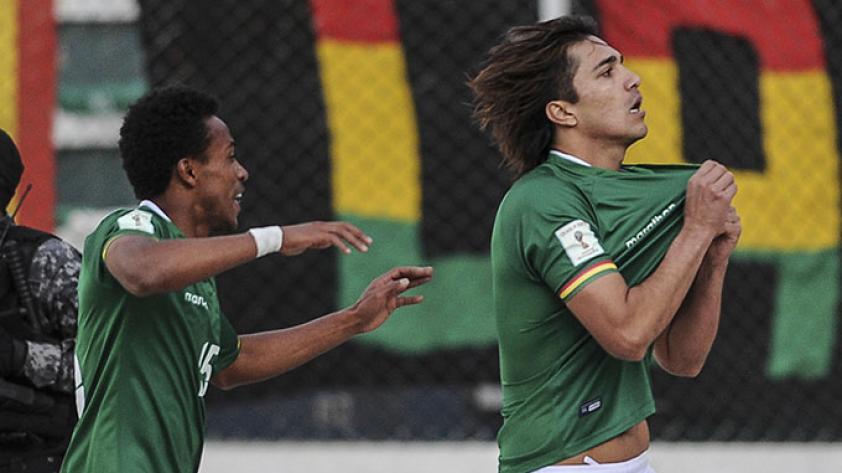 Bolivia venció 2-0 a Argentina sin Messi