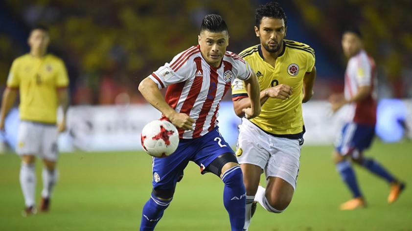 Paraguay logró valioso triunfo ante Colombia y se aferra al sueño de la clasificación