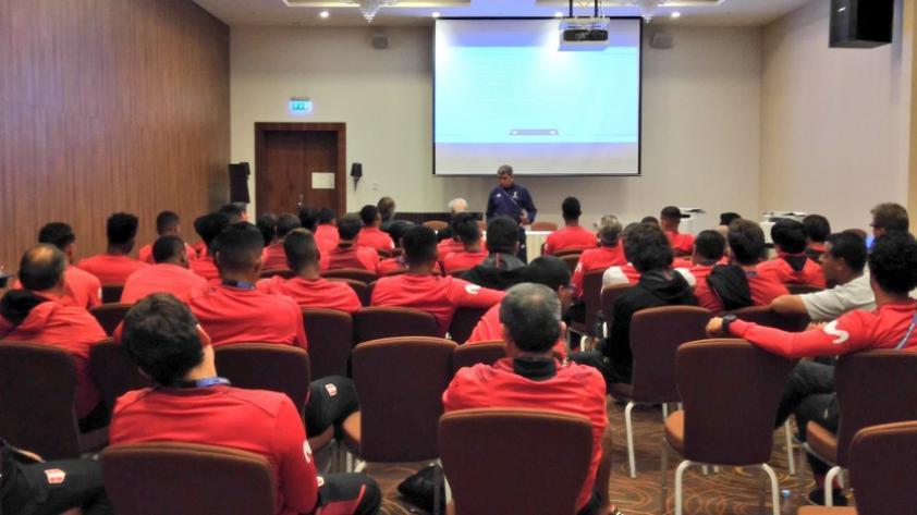 Selección Peruana recibió charla de bienvenida para Rusia 2018