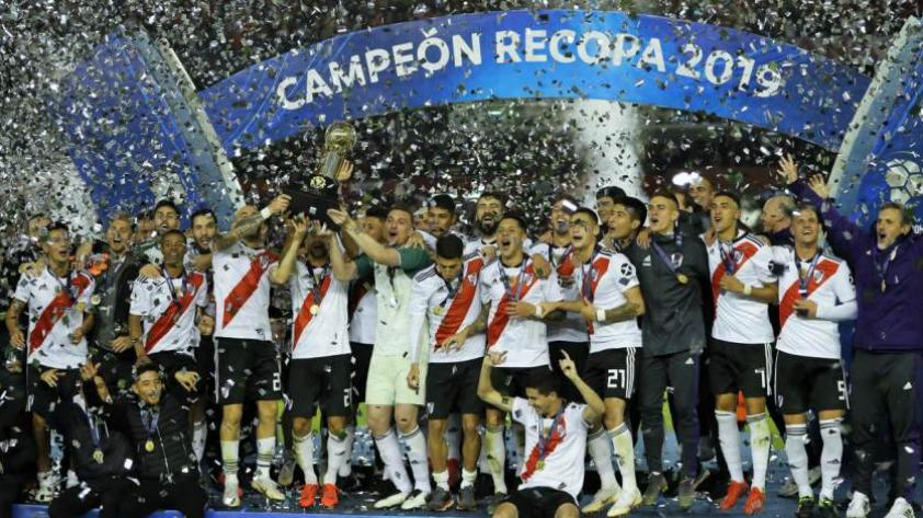 La era Gallardo: River Plate se consagró campeón de la Recopa Sudamericana