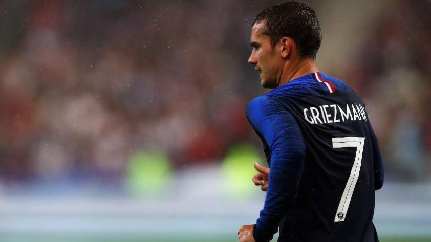 Antoine Griezmann habla sobre el partido contra la selección peruana