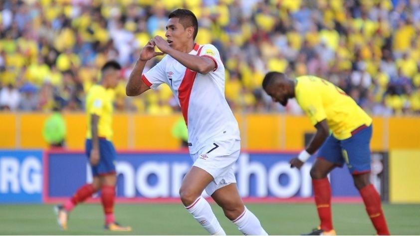 La emotiva narración con llanto de Daniel Peredo tras el gol de Paolo Hurtado en Quito