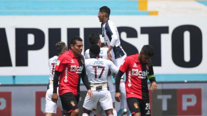 Se reparten los puntos:  Alianza Lima empata 2-2 con Melgar en la fecha 10 del Torneo Apertura