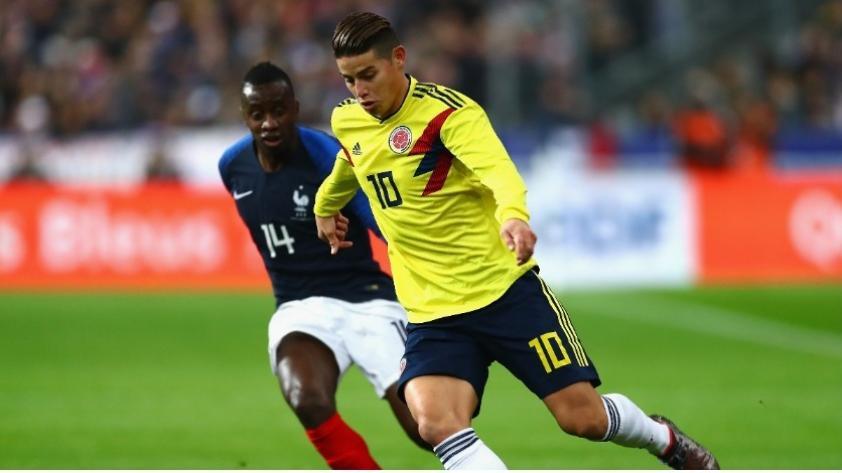 Colombia venció a Francia en increíble remontada