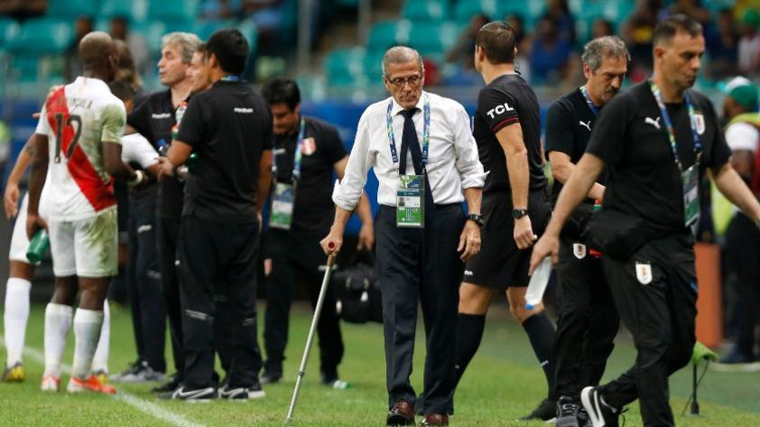 Selección de Uruguay: Óscar Washington Tabárez elogió la evolución de Perú bajo las órdenes de Ricardo Gareca