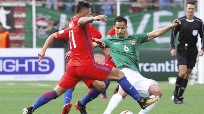 Bolivia venció 1-0 a Chile y complicó sus chances en las Clasificatorias Rusia 2018