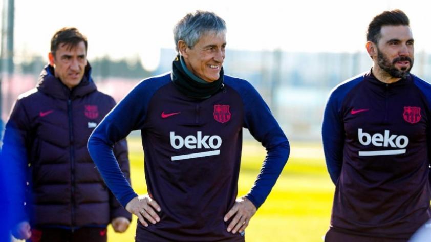 Quique Setién, nuevo entrenador del Barcelona: