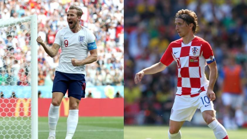 Inglaterra y Croacia buscarán hacer historia en Rusia 2018