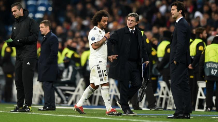 Real Madrid: Marcelo defendió la posición de la hinchada tras la derrota
