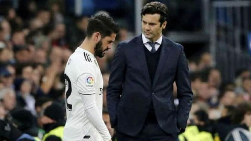 Solari habló sobre el futuro de Isco en el Real Madrid