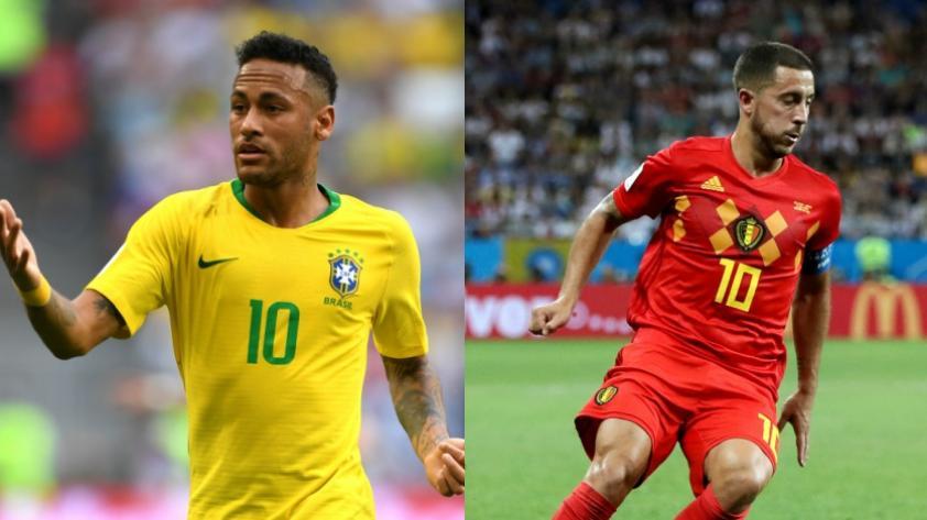 ¿Cuántas veces se enfrentaron Brasil y Bélgica?