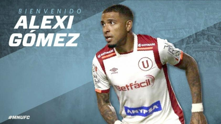 OFICIAL: Alexi Gómez es nuevo jugador del Minnesota United de Estados Unidos