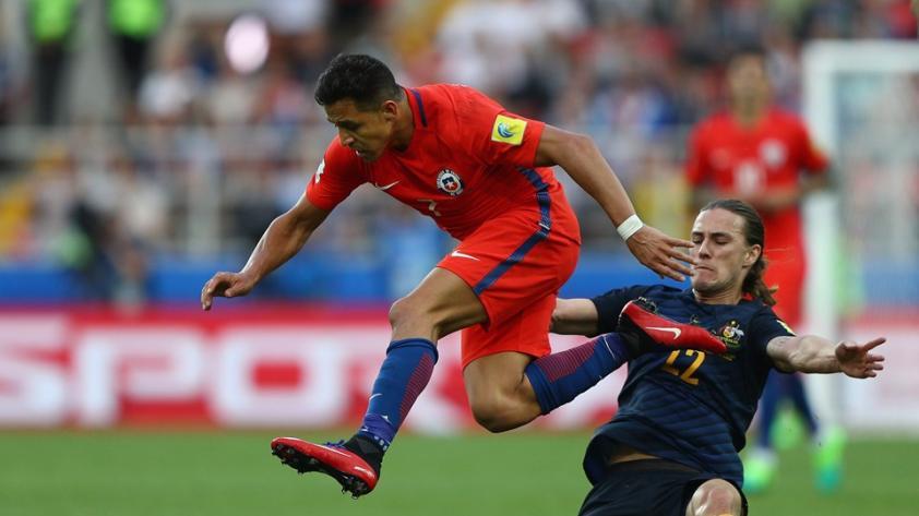 Alemania y Chile ya están en la semifinal de la Confederaciones