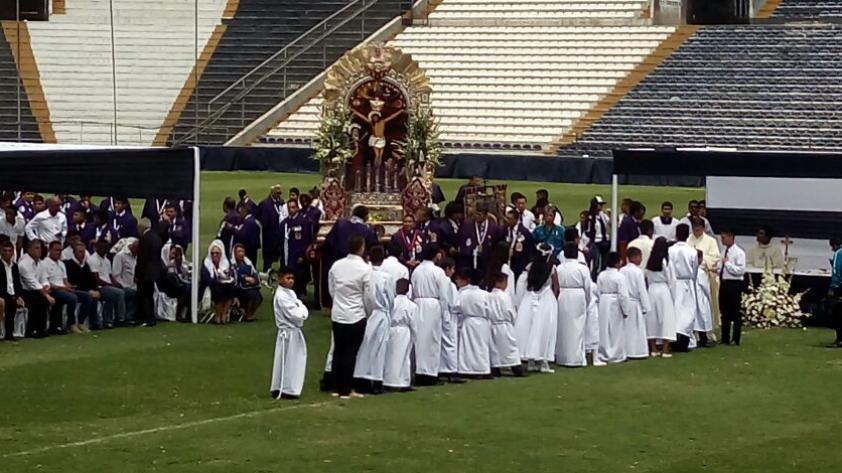 Alianza Lima rindió homenaje a sus caídos del fokker con misa en Matute