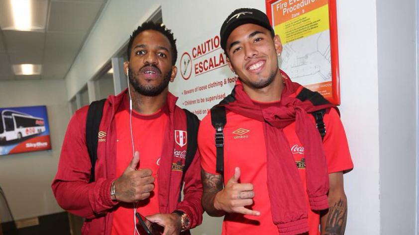 Selección peruana arribó a Wellington sin problemas