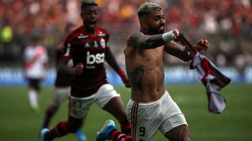 ¡De un momento a otro, campeones! Flamengo derrotó 2-1 a River Plate en la final de la Copa Libertadores