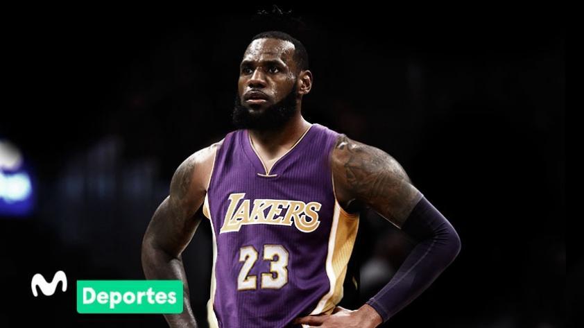 LeBron James es nuevo jugador de Los Ángeles Lakers para la próxima temporada de NBA