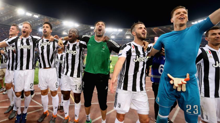 Juventus empata con el Roma y consigue su 7° Scudetto consecutivo