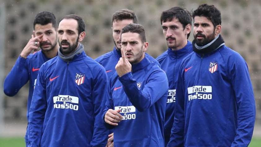 ¡Todo listo! Atlético de Madrid recupera cinco jugadores para partido contra Barcelona