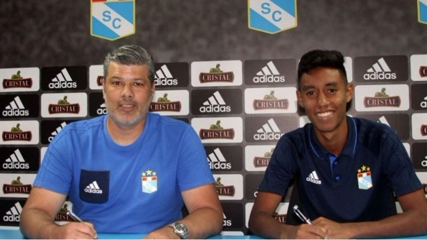 Sporting Cristal anunció la contratación de Brandon Palacios, hijo del 'Chorri'