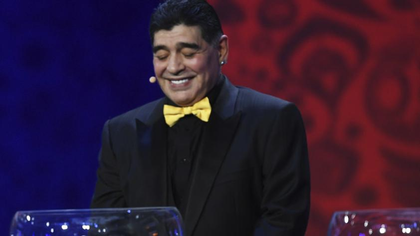 Diego Maradona aconseja a la selección peruana