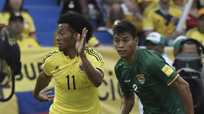 Colombia sufrió para vencer a Bolivia