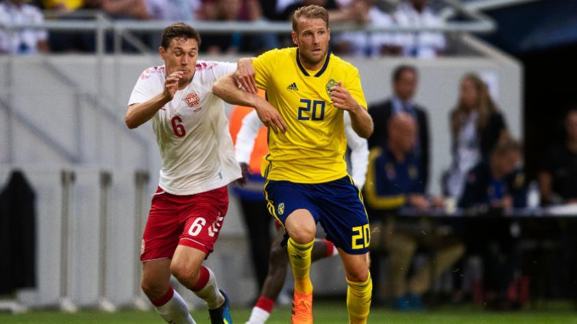 Dinamarca y Suecia empatan sin goles en amistoso internacional