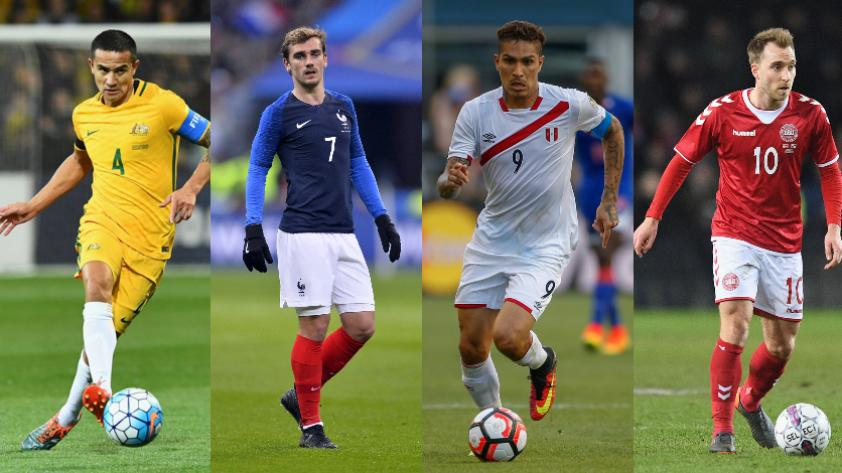 Rusia 2018: fecha y hora de los partidos del grupo C del Mundial