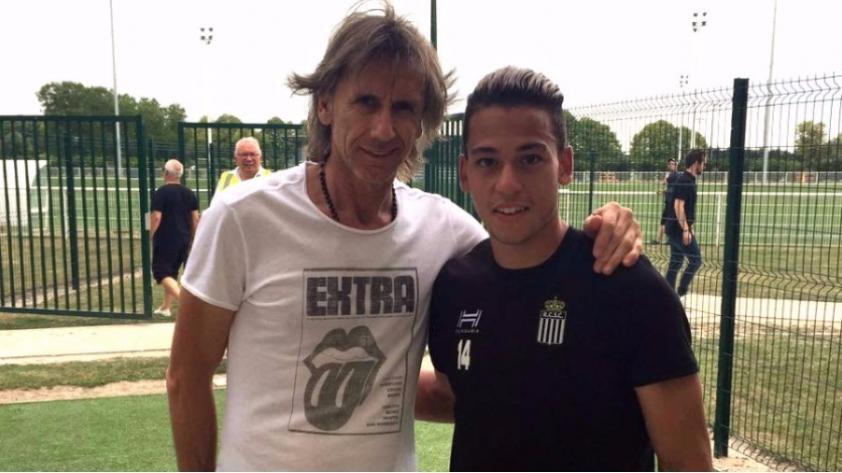 Selección Peruana: Ricardo Gareca visitó a Cristian Benavente en Francia