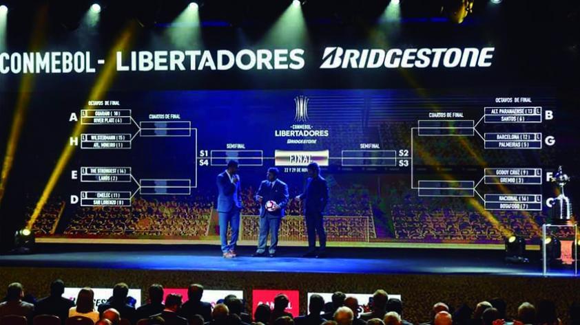 Definidas las llaves de octavos de final de la Copa Libertadores