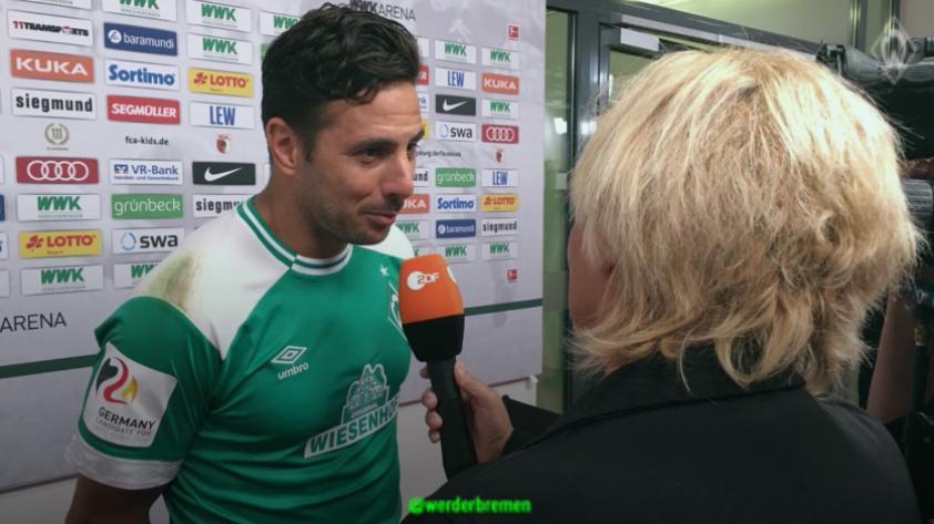 """Claudio Pizarro: """"Estamos muy contentos de lograr los tres puntos"""