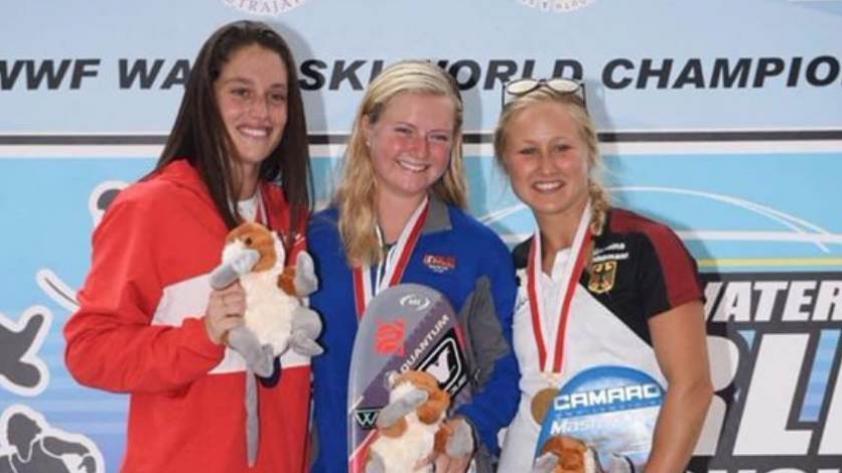 ¡Imparable! Natalia Cuglievan consigue la medalla de plata en el campeonato mundial de waterski