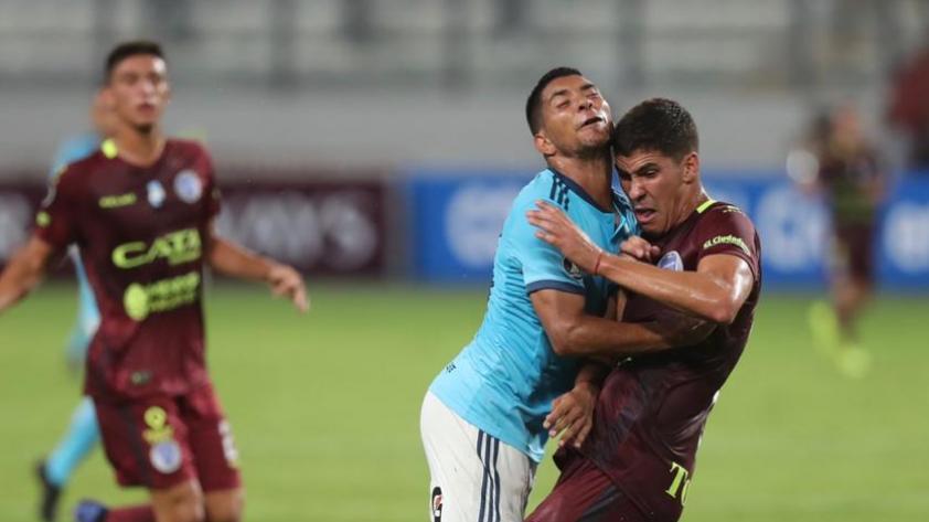 Chocaron con una pared: Cristal empató 1-1 con Godoy Cruz en el Estadio Nacional por la Copa Libertadores